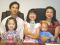 Phu Nguyen and Duong Tran and family