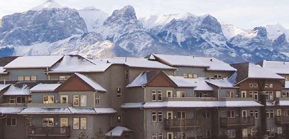 Exterior view of The Lodges at Canmore, Canmore, Alberta